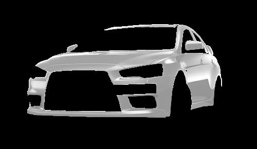 Цвета кузова Lancer Evolution X